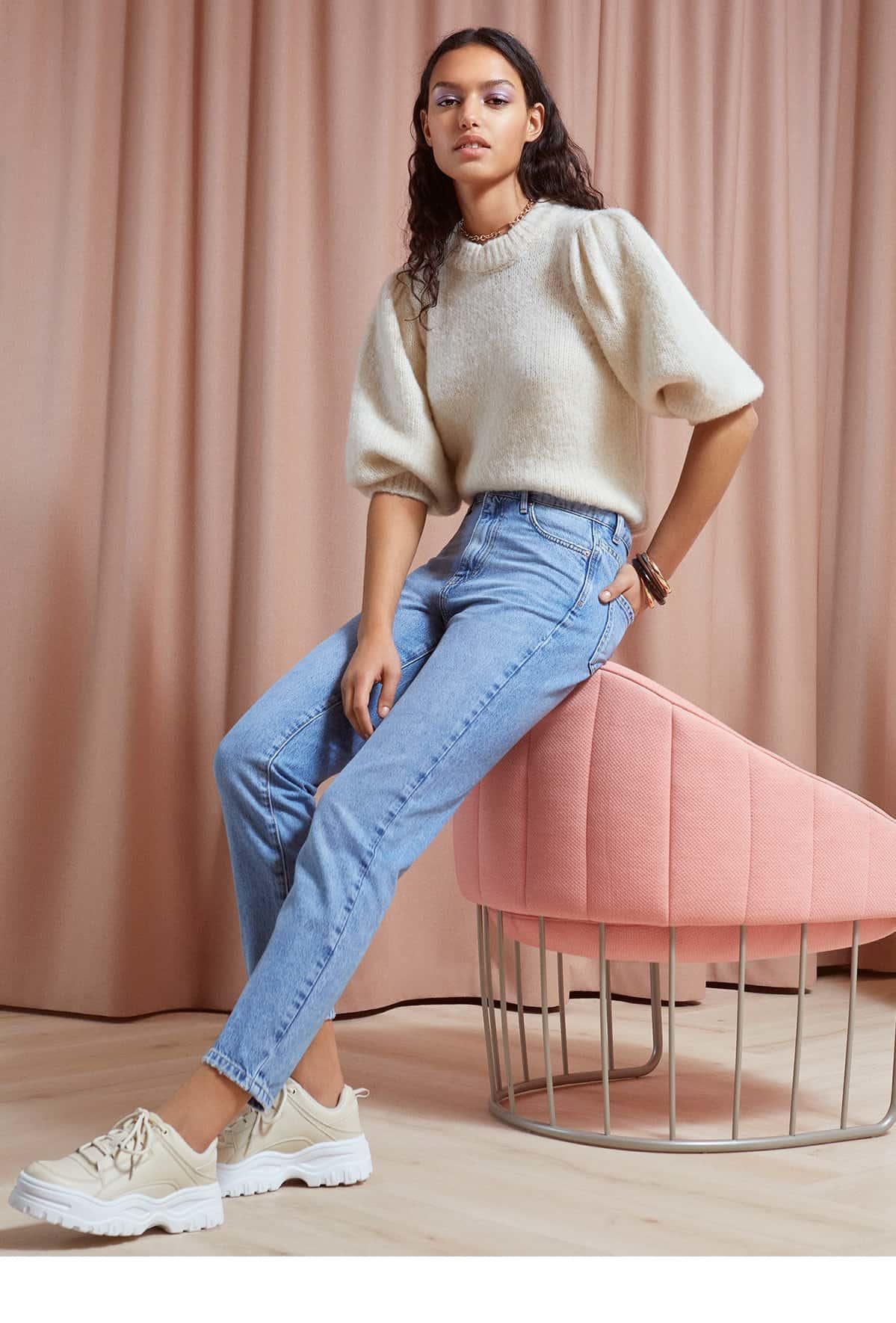 på fødder billeder af professionelt salg køb salg Pink spring fling - Gina Tricot