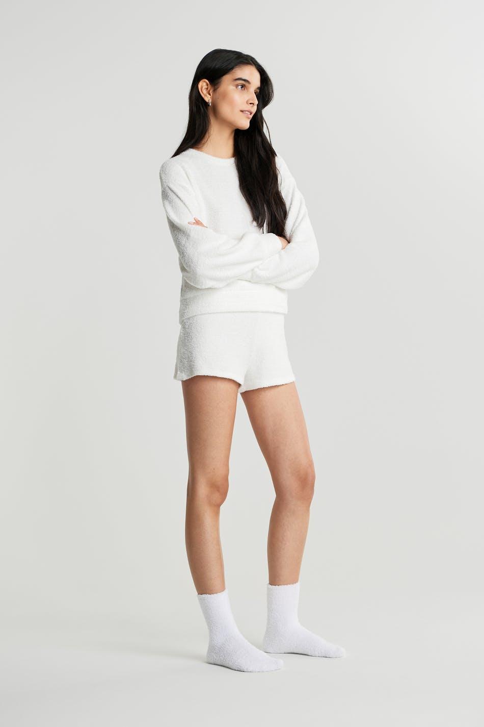 virkade shorts gina tricot