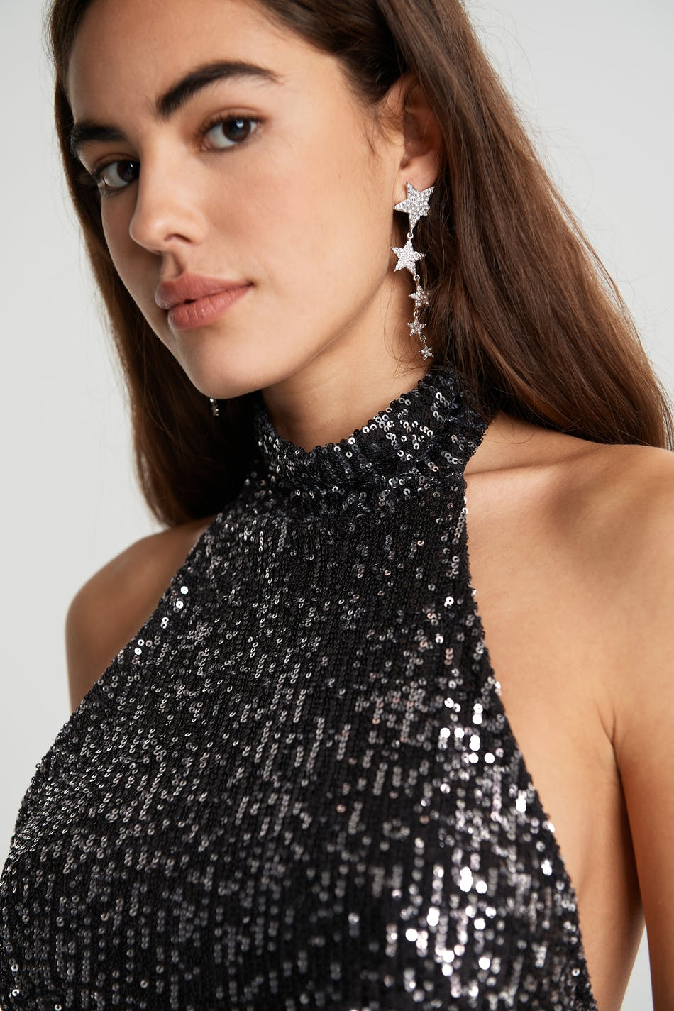 Fi sequin top   tops   Gina Tricot