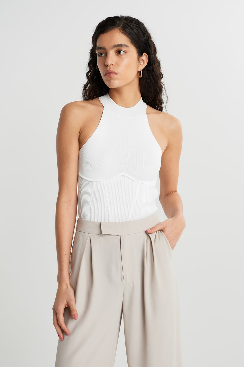 Gina Tricot Quinn knitted top