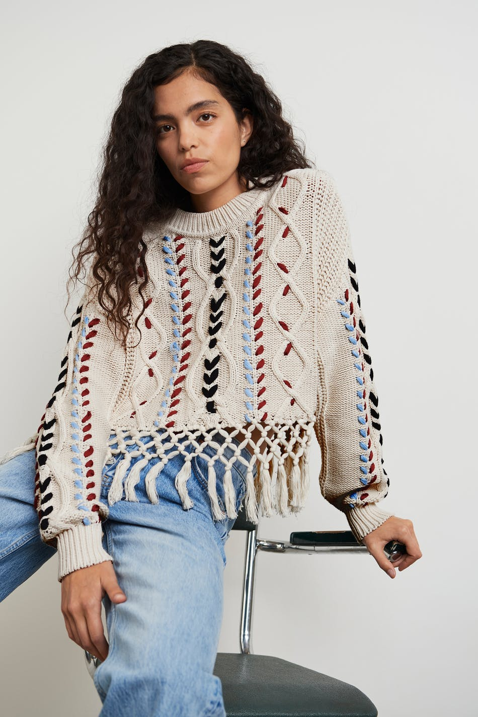 Gina Tricot Grace knitted sweater
