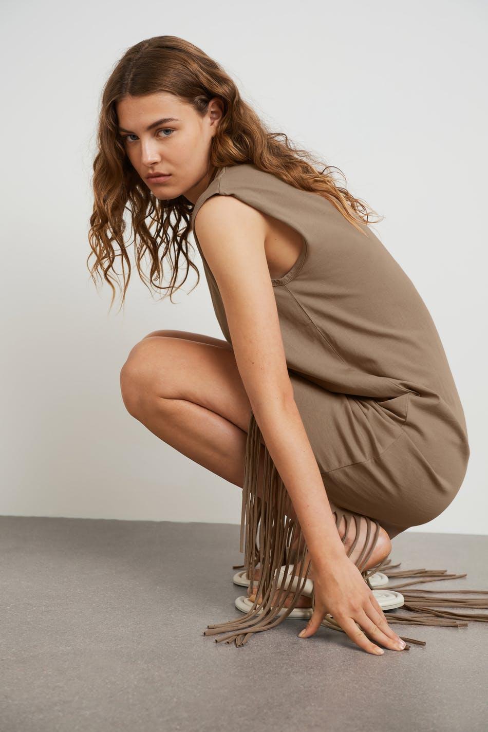 Gina Tricot Florens fringe dress