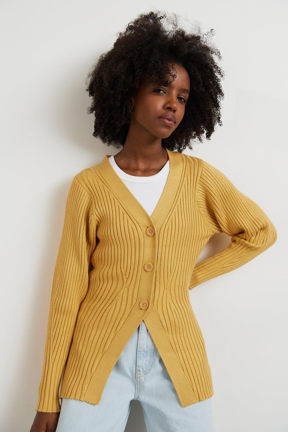 Gina Tricot Doris knitted cardigan