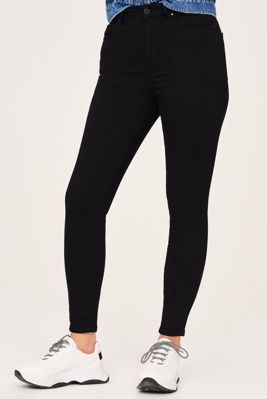 High waist curve jeans
