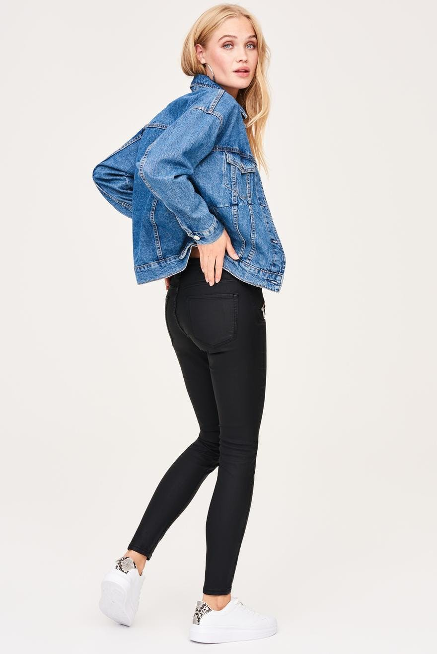 d39c792dfeb79 Elly coated jeans 21.00 EUR, Skinny jeans - Gina Tricot