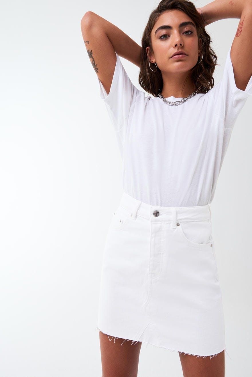 Vintage short denim skirt 89.70 NOK, Jeansskjørt