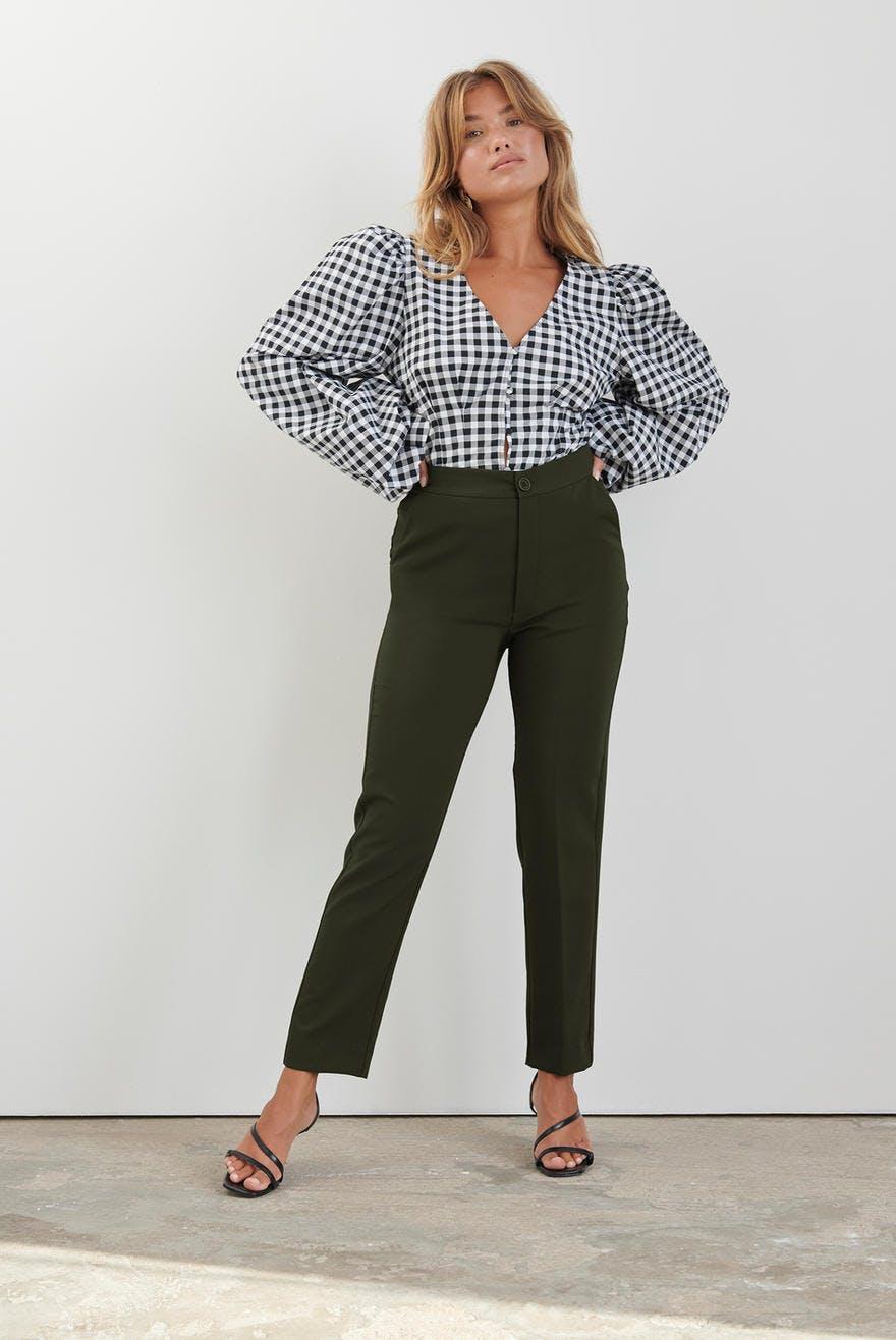 Karin slacks trousers, Byxor Kläder och mode online Gina