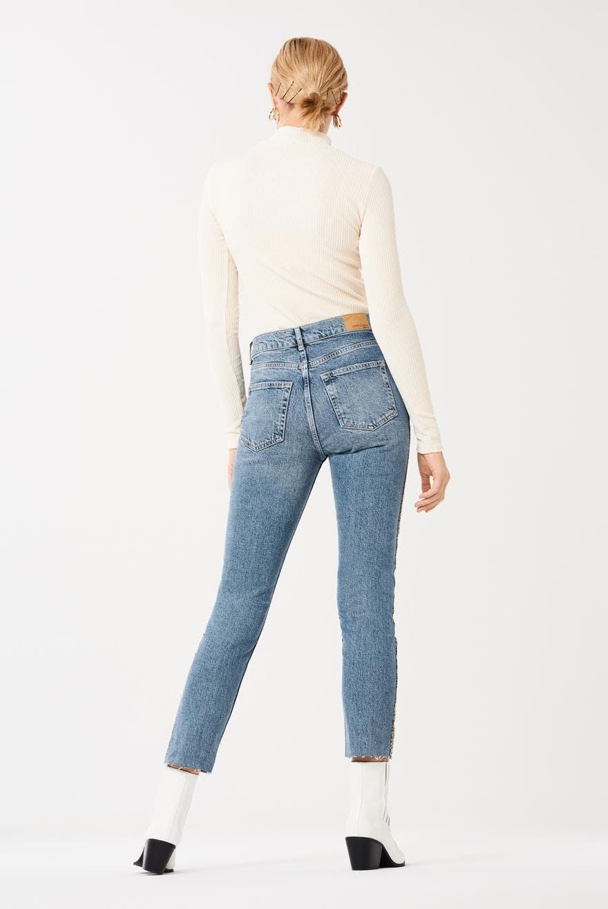 ca66ac562e4d 833877832833877832GINA TRICOTSidney leo stripe jeansLeopard/stripe  (7832)Bomull 99% Elastan 1%Jeans med 5-fickmodell och högmidja. Original  fit och rak från ...