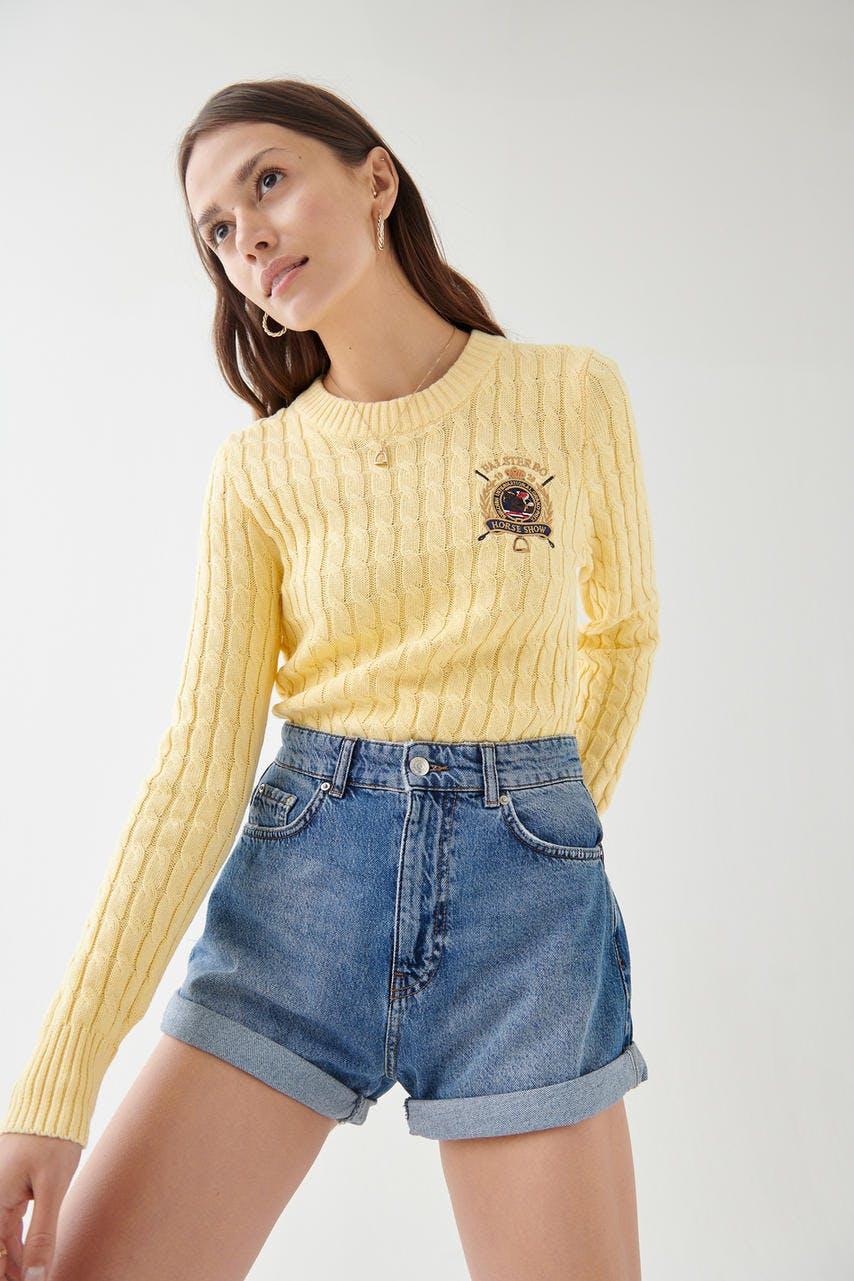b1bd60c2277a Stickade tröjor - Trendiga stickade tröjor - Gina Tricot - Gina Tricot