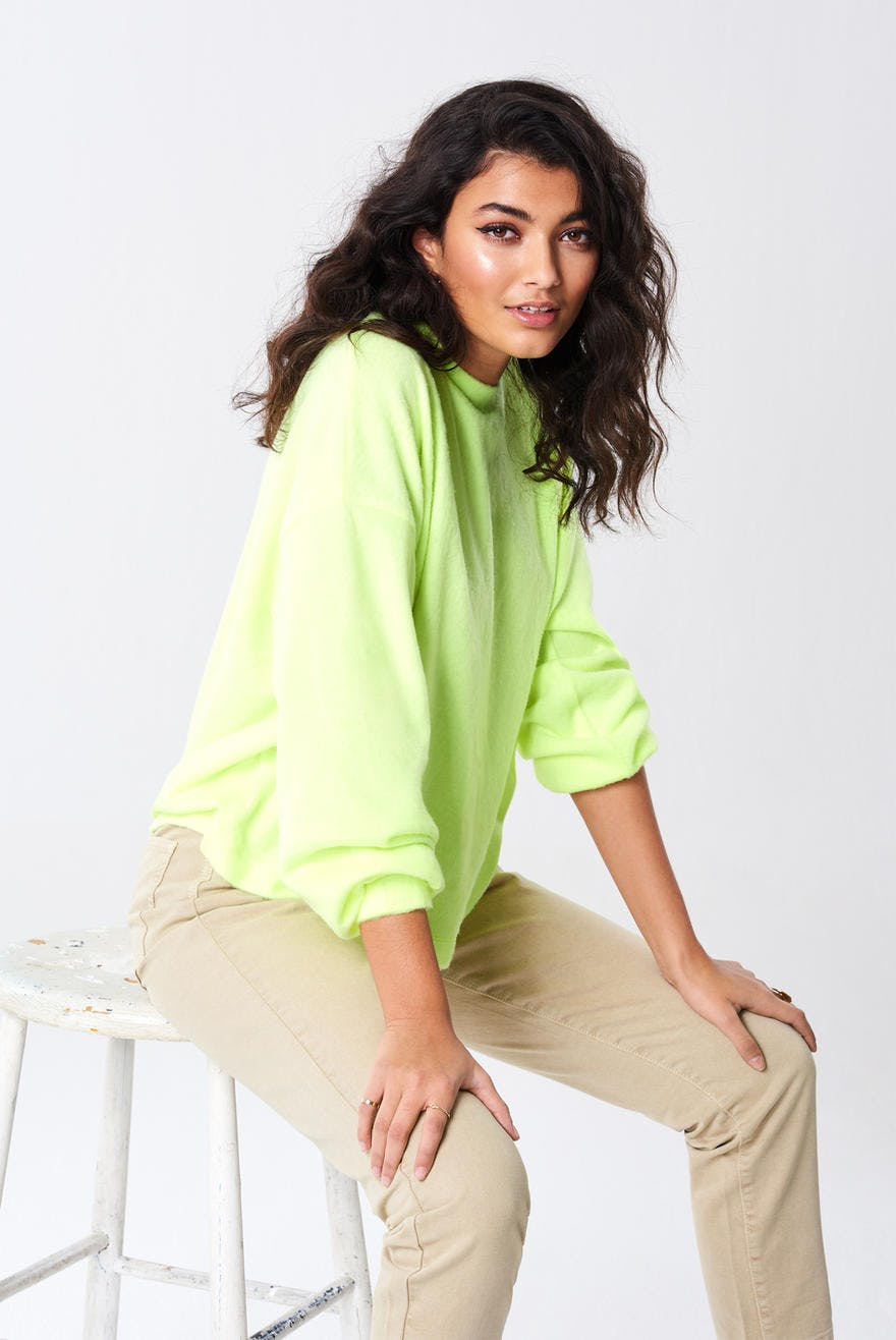 gina tricot grønn genser