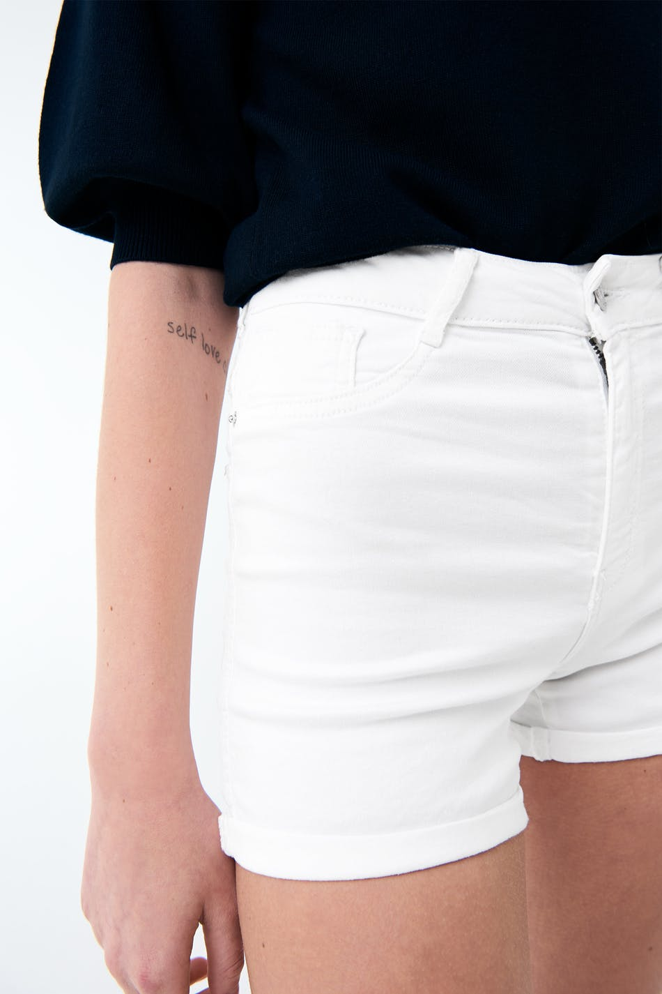 gina tricot jeansshorts