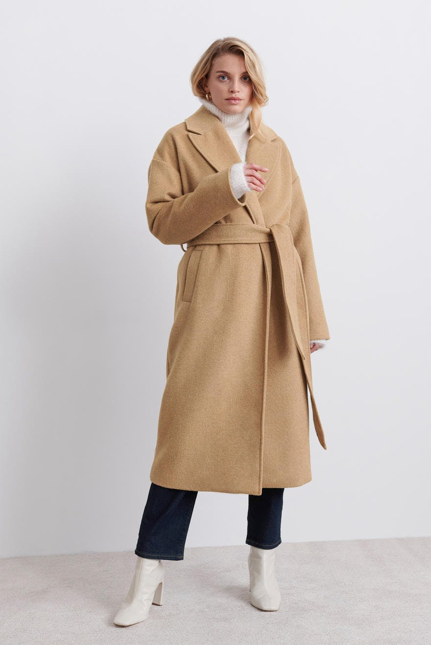 sandrine-wool-blend-coat by ginatricot