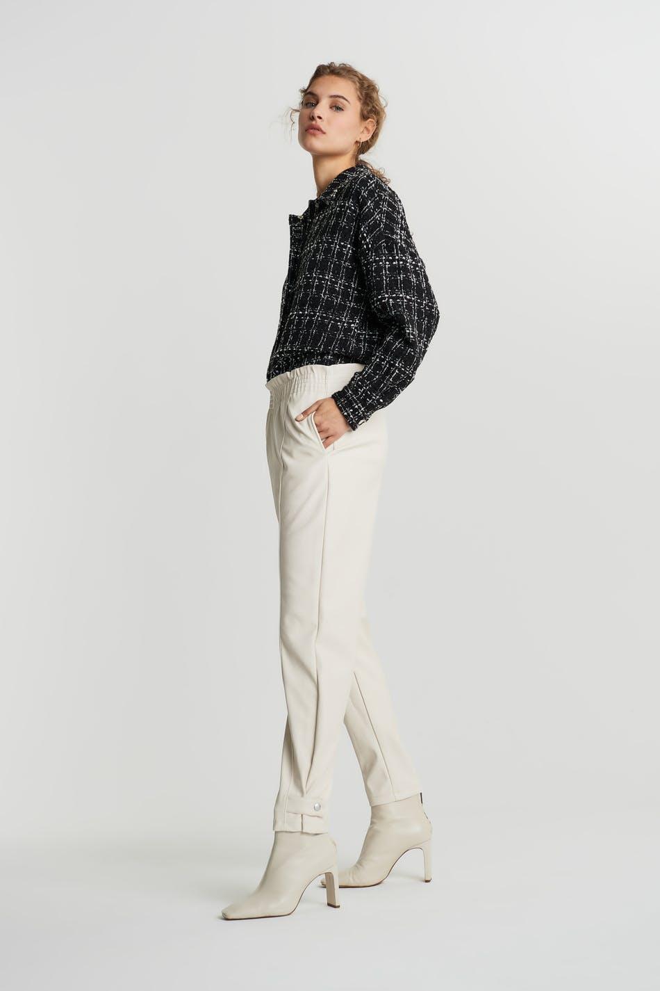 Kelis pu trousers