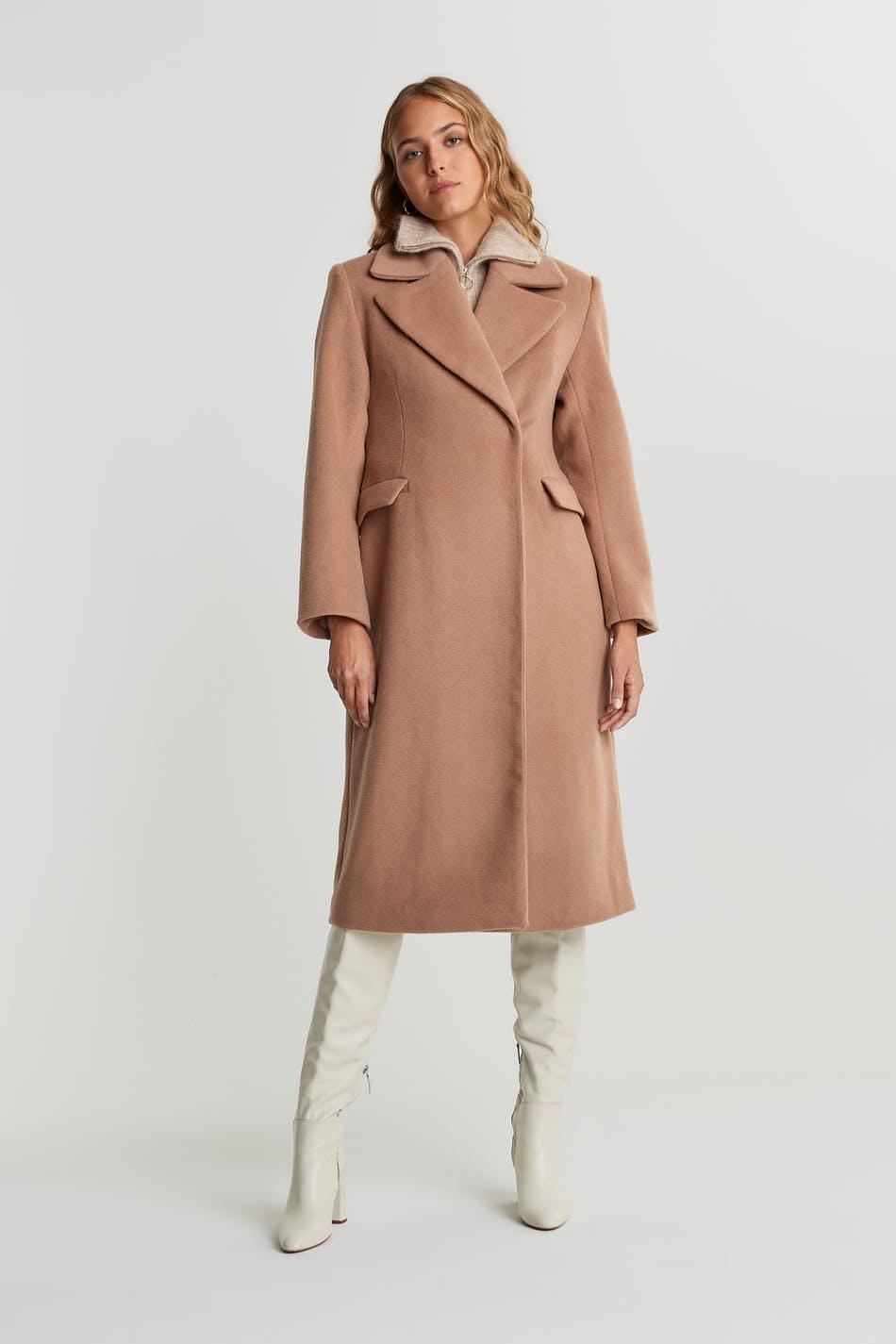 Ace wool blend coat