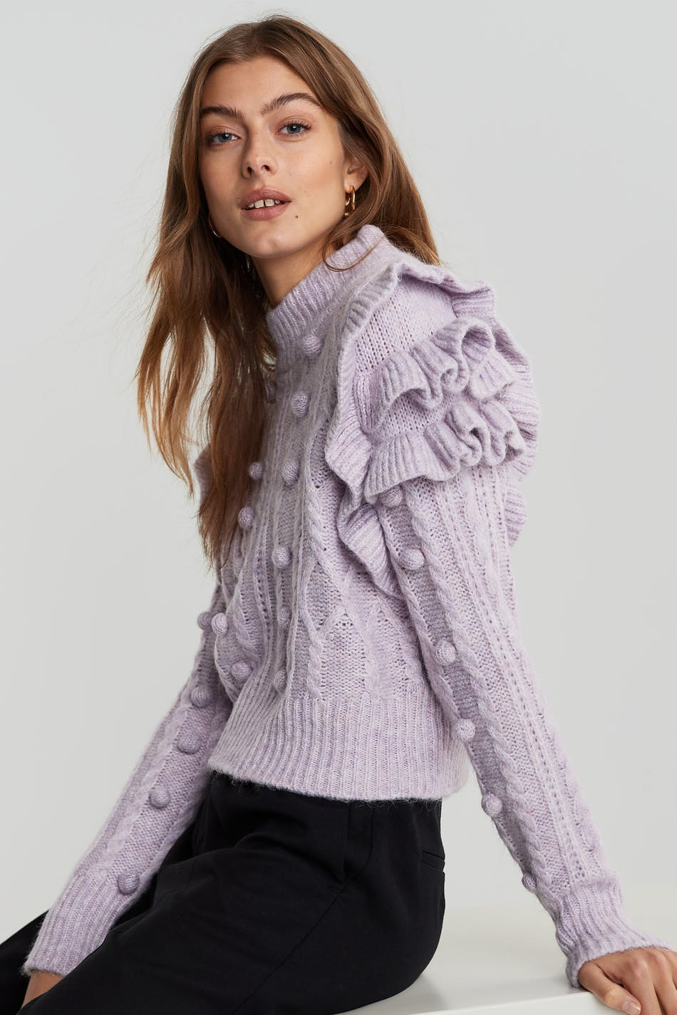 Allison knitted sweater